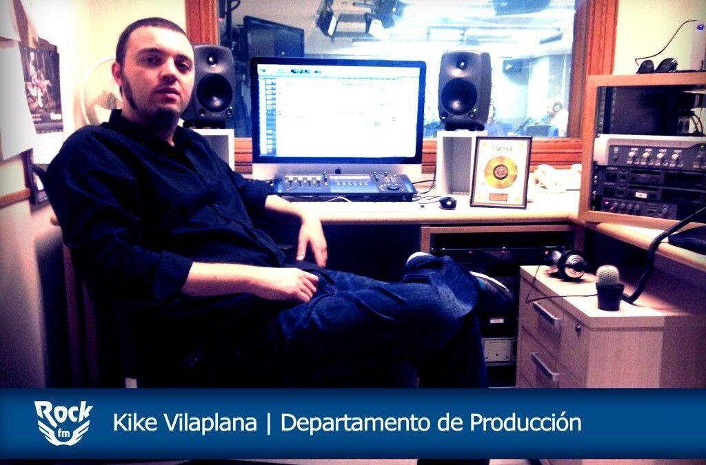 ¡Alto Voltaje! Entrevistamos a Kike Vilaplana, productor en Rock FM
